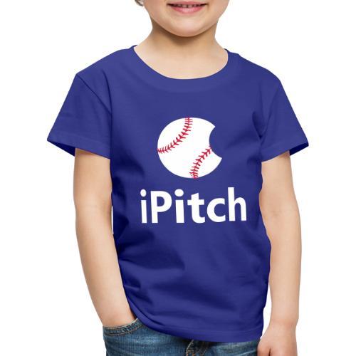 Baseball Logo iPitch - Kids' Premium T-Shirt