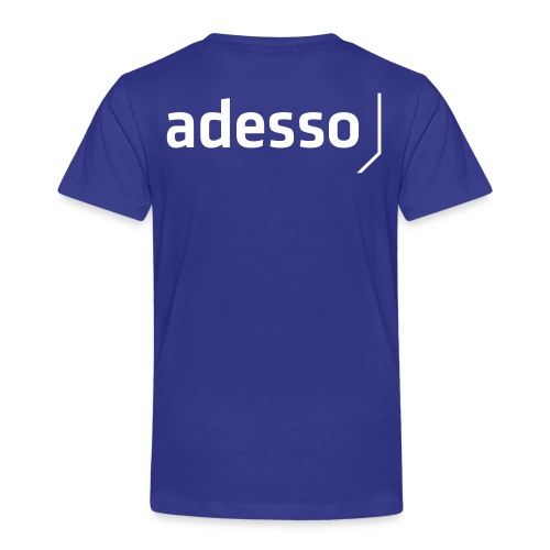 adesso basic white - Kinder Premium T-Shirt