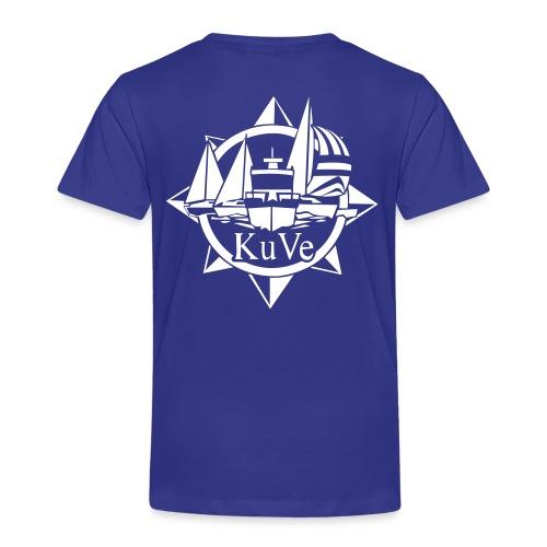 KuVe_musta - Lasten premium t-paita