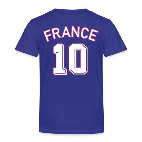 Maillot numéro 10 FRANCE - T-shirt Premium Enfant