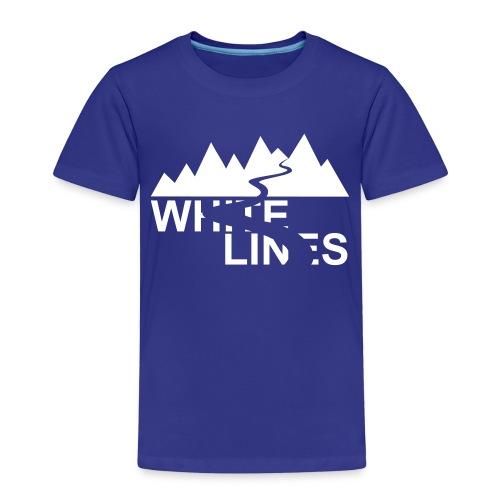 White Lines v3 - Kinder Premium T-Shirt