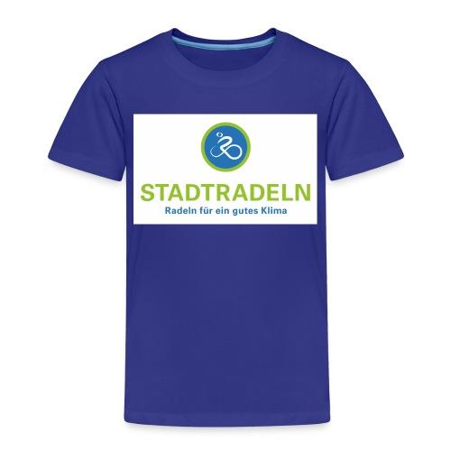 Stadtradeln quadratisch CMYK 300dpi jpg - Kinder Premium T-Shirt