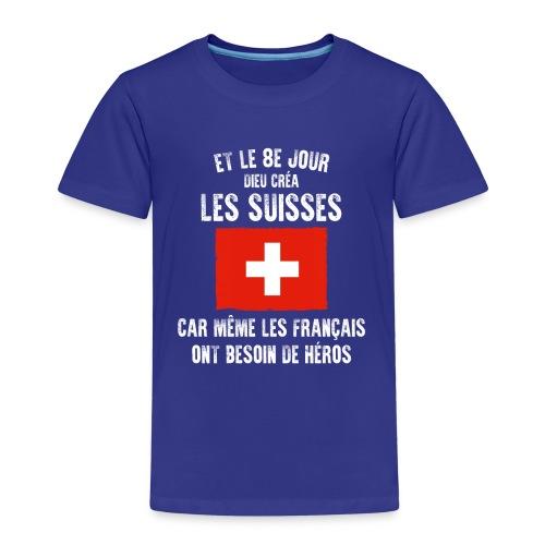 Et le 8ème jour Suisse - T-shirt Premium Enfant