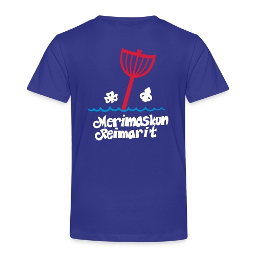 viivapiirros pakattu zip - Lasten premium t-paita