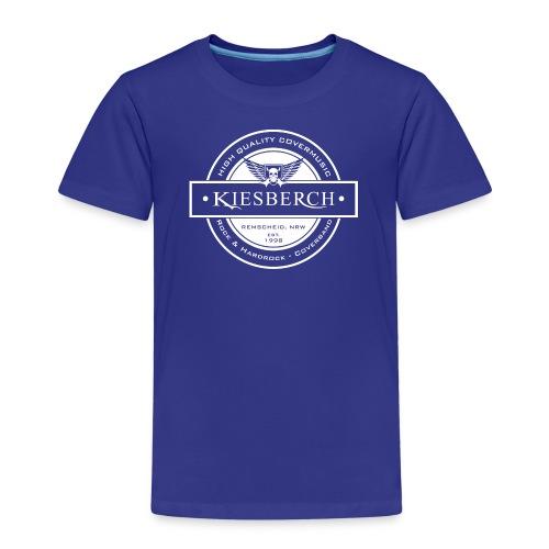 KIESBERCH HQ CM, weiß - Kinder Premium T-Shirt