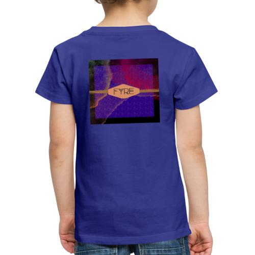 FYRE Colour Splat Print - Kids' Premium T-Shirt