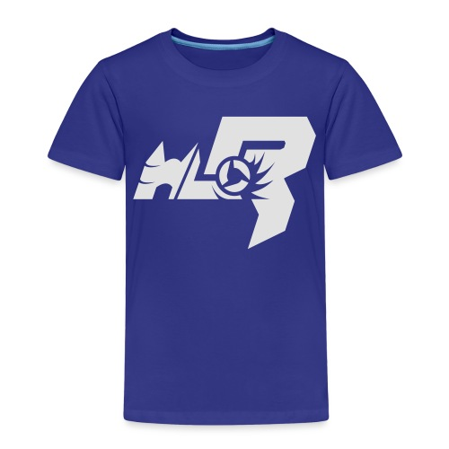 HLR_logo_white - Kinder Premium T-Shirt