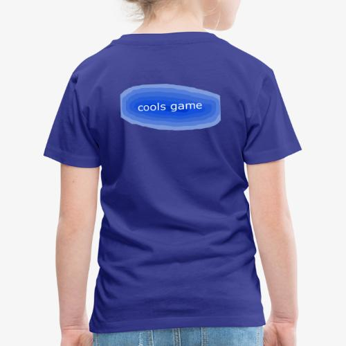 cools gamer - Kids' Premium T-Shirt