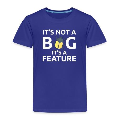 Bug feature sviluppatore programmatore Tazze & - Maglietta Premium per bambini