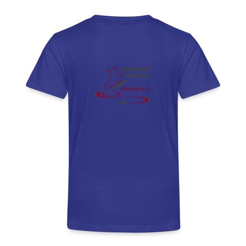Original Logo Eiskunstlauf Akademie Rheine e.V. - Kinder Premium T-Shirt