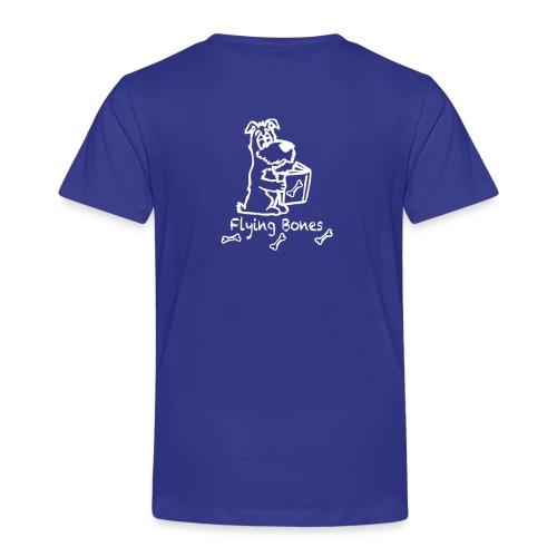 flying bones shirtschwarz - Kinder Premium T-Shirt