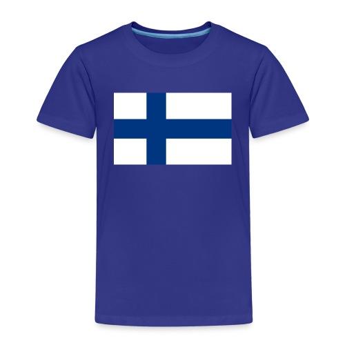800pxflag of finlandsvg - Lasten premium t-paita
