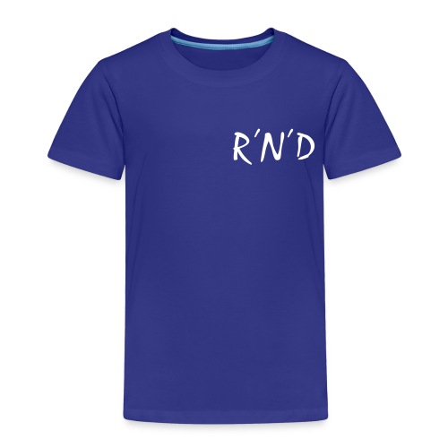 rnd schwarz - Kinder Premium T-Shirt