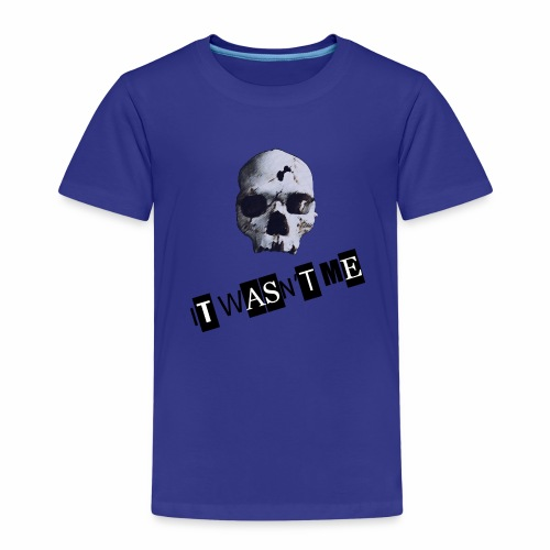 jr murder free2 png - Børne premium T-shirt