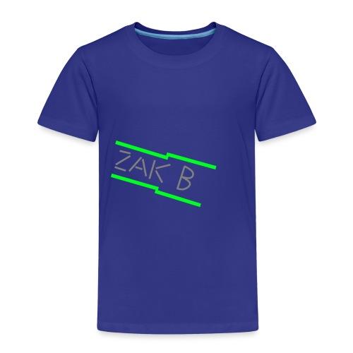 Green ZAK B png - Kids' Premium T-Shirt