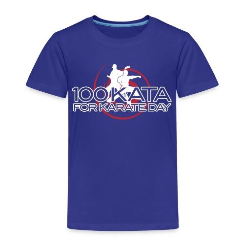100 kata 2017oct T final - Kids' Premium T-Shirt