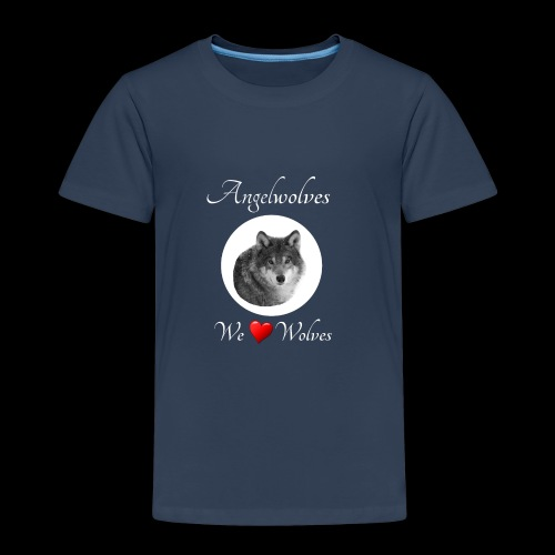 We Love Wolves - Kinder Premium T-Shirt