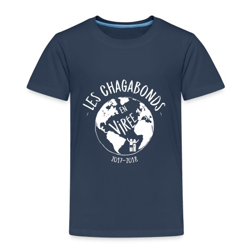 LOGO CHAGABONDS blanc - T-shirt Premium Enfant