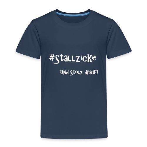 #Stallzicke - und stolz drauf! - Kinder Premium T-Shirt