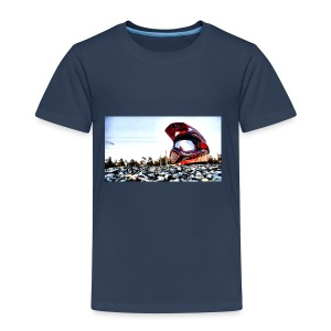 wallpaper casque - T-shirt Premium Enfant