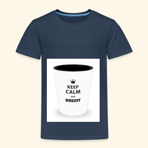 Shot Glass with inscriptions Keep Calm & Brexit - Kids' Premium T-Shirt