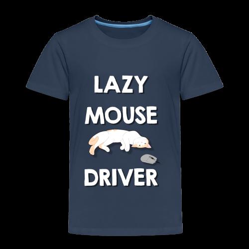 Faule Maustreiber Computer Nerd Informatik Katze - Kinder Premium T-Shirt