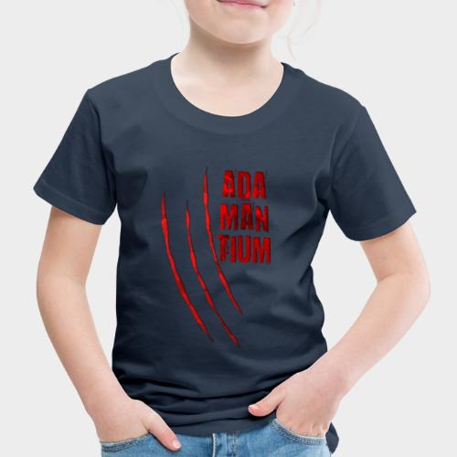 Blutige Monster Krallen Kratzer ADAMANTIUM - Kinder Premium T-Shirt