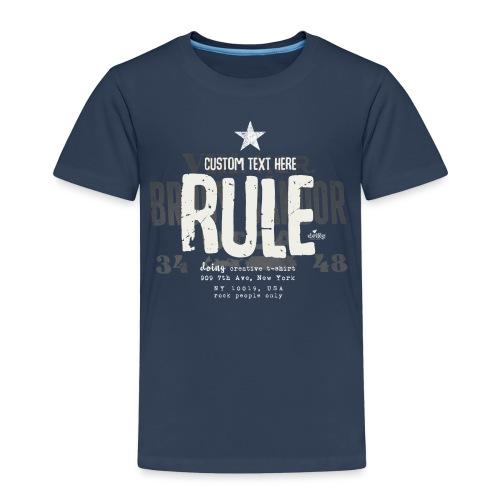 youname's rule - Maglietta Premium per bambini