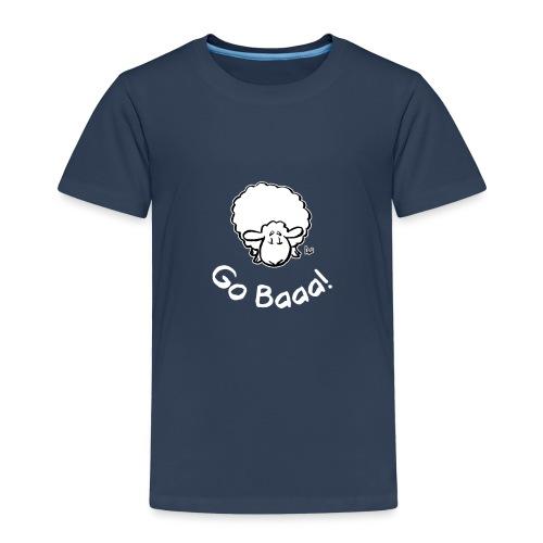 Sheep Go Baaa! (edizione nera) - Maglietta Premium per bambini