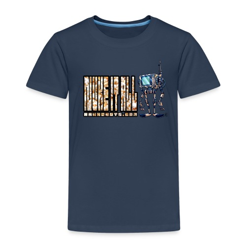Nuke It All! 💥🍿 - Børne premium T-shirt