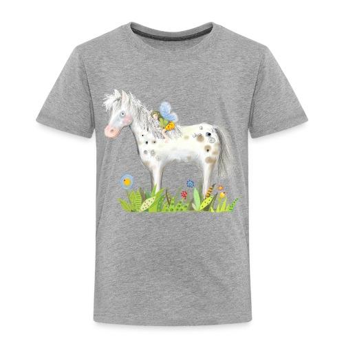 Fee. Das Pferd und die kleine Reiterin. - Kinder Premium T-Shirt