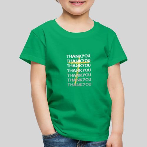 DANKE Jesus, das Geschenk für Christen THANKYOU - Kinder Premium T-Shirt