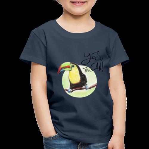 yes, toucan - Kinder Premium T-Shirt