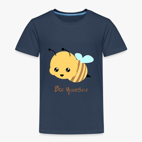 Bee Yourself - Børne premium T-shirt