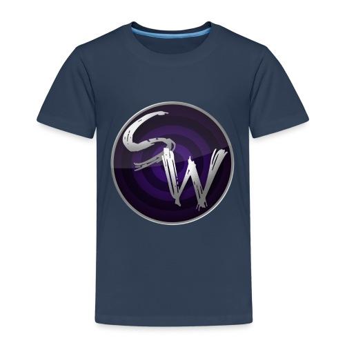 round logo hoodie - Kinderen Premium T-shirt
