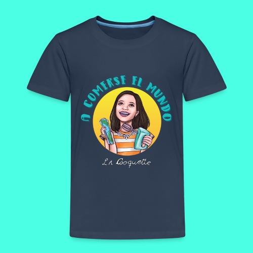 La Cooquette Mundo - Camiseta premium niño