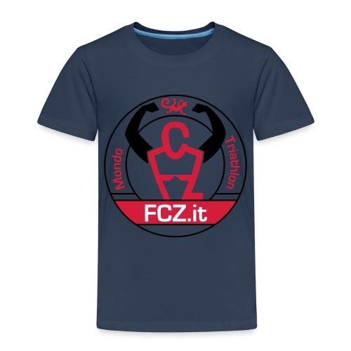 FCZ Mondo Triathlon - Maglietta Premium per bambini