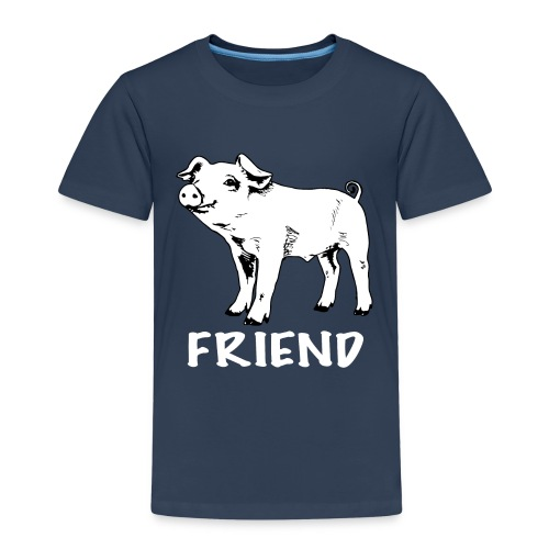 kids merch piglet bw - Kids' Premium T-Shirt