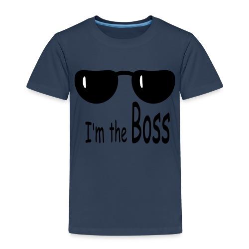 theBoss - Maglietta Premium per bambini