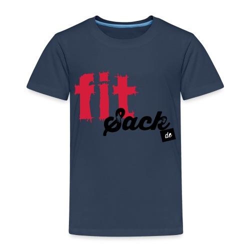 fitsack Schriftzug - Kinder Premium T-Shirt