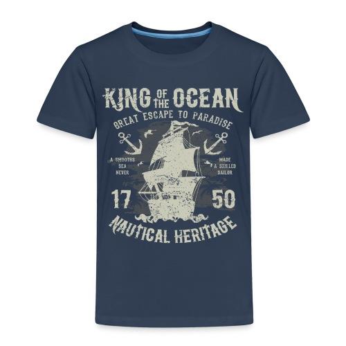 King of the Ocean - Kids' Premium T-Shirt
