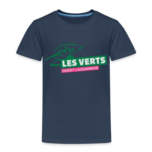 Les Verts OL normal - T-shirt Premium Enfant