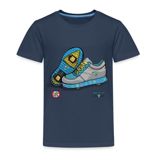 Spectrum spread design2 png - Børne premium T-shirt