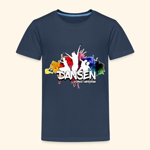 Dansen ColorSplash - Premium-T-shirt barn