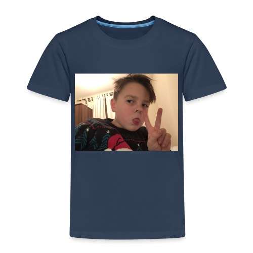 Oscar Frawley upsidedown - Kids' Premium T-Shirt
