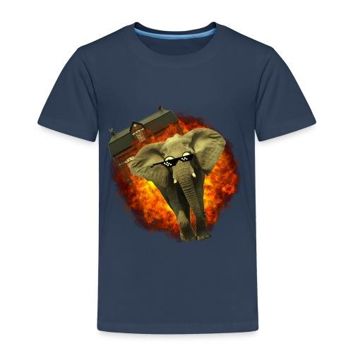 olifant op avontuur - Kinderen Premium T-shirt