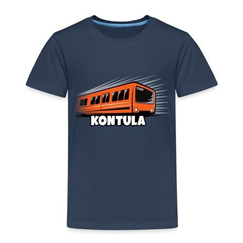 06-KONTULA HELSINKI tekstiili- ja lahjatuotteet - Lasten premium t-paita