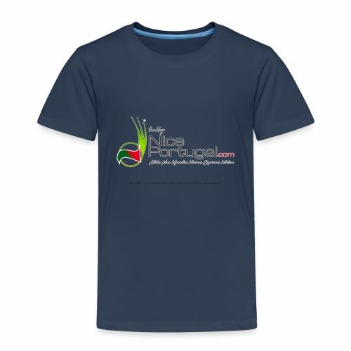 NicePortugal.com Logo - Maglietta Premium per bambini