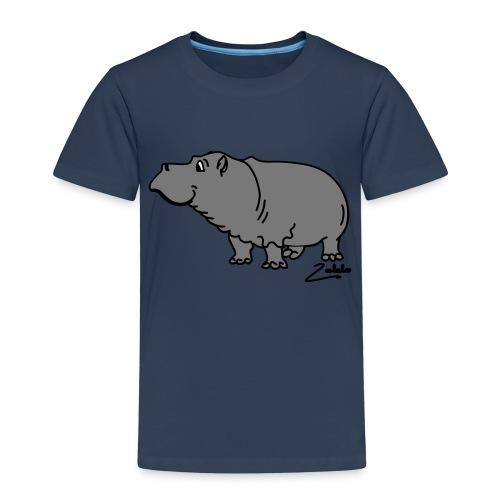 Hippo - Kinder Premium T-Shirt