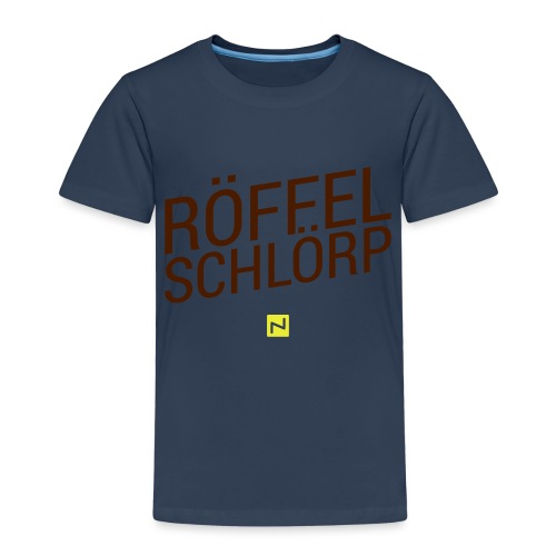 schakko roeffel brand - Kinder Premium T-Shirt